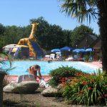 piscine exterieure camping la baie de douarnenez