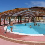 vue piscine camping la baie de douarnenez