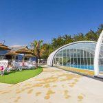 piscine couverte la plage