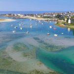 plage et port lesconil