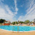vue piscine camping lesvikings